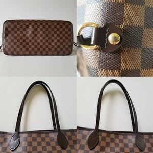 Louis Vuitton Bags - LV Neverfull GM Damier Ebene with Pouch